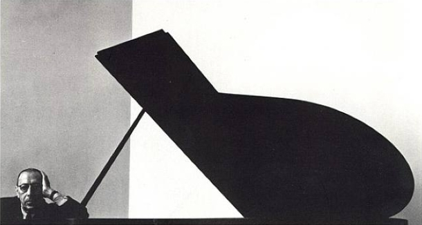 Arnold Newman photo of Igor Stravinski