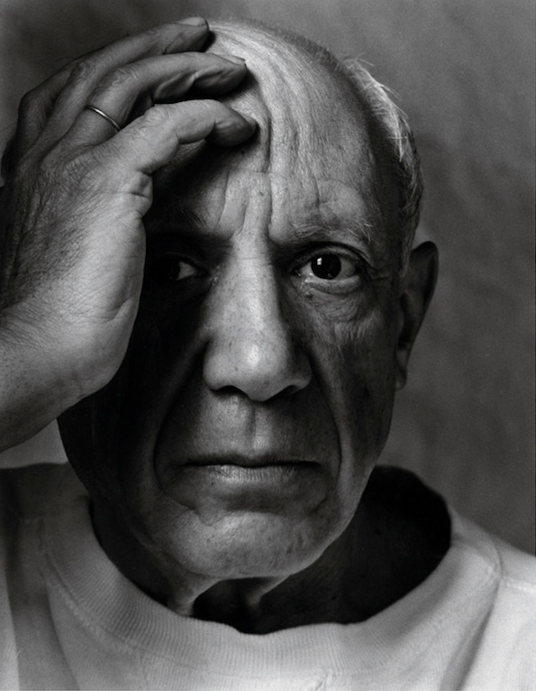 Arnold Newman photograph of Pablo Picasso