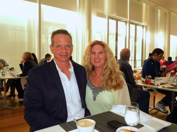 Brent & Gina visit the North Carolina Museum of Art and enjoy brunch in Iris restaurant. Delicious!