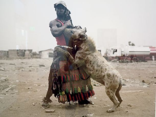 """Abdullahi Mohammed With Mainasara, Ogre-Remo, Nigeria"" C Print 2007"