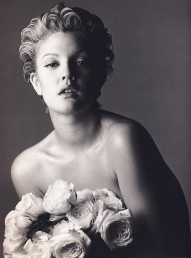 Bert Stern image of Drew Barrymore