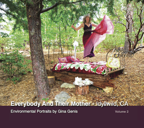 The cover of my 2nd  volume of Everybody And Their Mother - Idyllwild, CA.