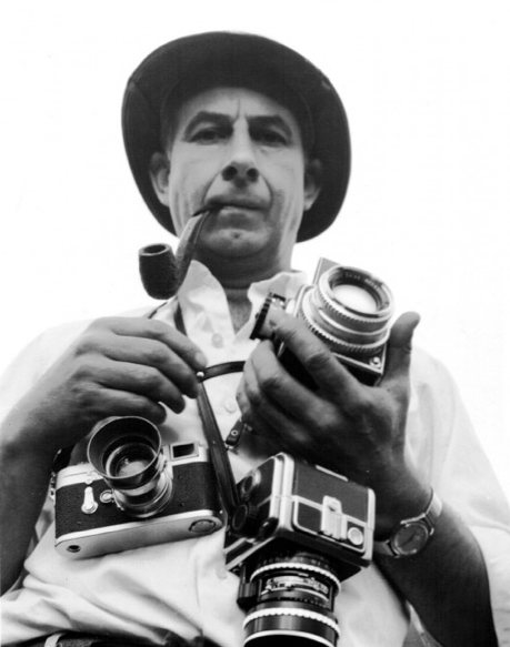 Robert Frank in action
